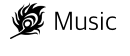 Icona Logo Promo In Music